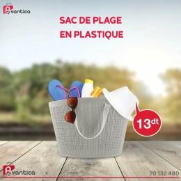 Sac de plage en plastique