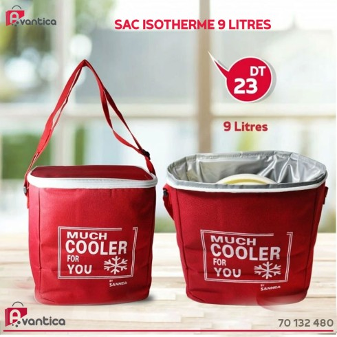 Sac isotherme 9 Litres