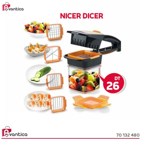 Découpe Fruits & Légumes 5 En 1 Nicer Dicer