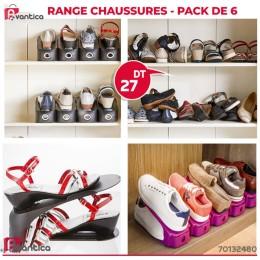 Range Chaussures - Pack de 6