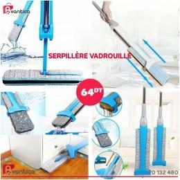 Serpillère Vadrouille Double Face et Rotation a 360 ° Switch'n Clean