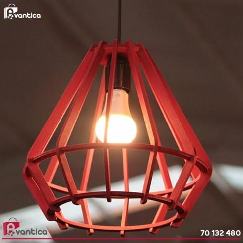Suspension Lampe H22 Rouge