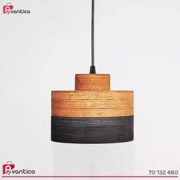 Suspension Combino R Bois, 20cm de diamètre