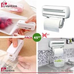 Pack Distributeur 3en1 + Mini soudeuse cuisine